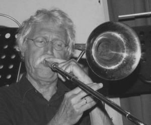 Ruud Petri, trombone Limehouse Jazzband