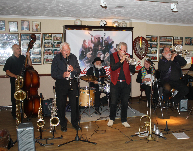 Dave Rances Rockin Chair Band At Farnborough Jazz Club Kent On Friday Th