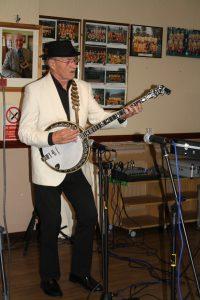 Tony Pitt at Farnborough Jazz Club (Kent). Photo by Mike Witt.